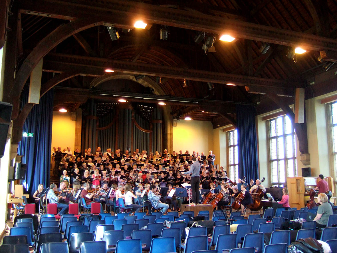 The Bardi support Uppingham and Oundle Choral Societies