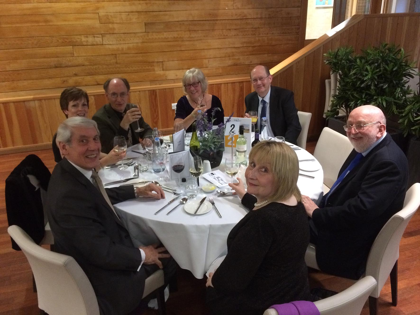The Bardi holds 30th Anniversary Dinner at College Court, University of Leicester
