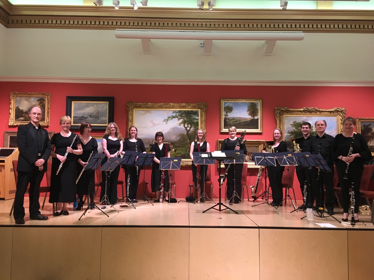 Bardi Wind Soloists at Leicester Museum and Art Gallery