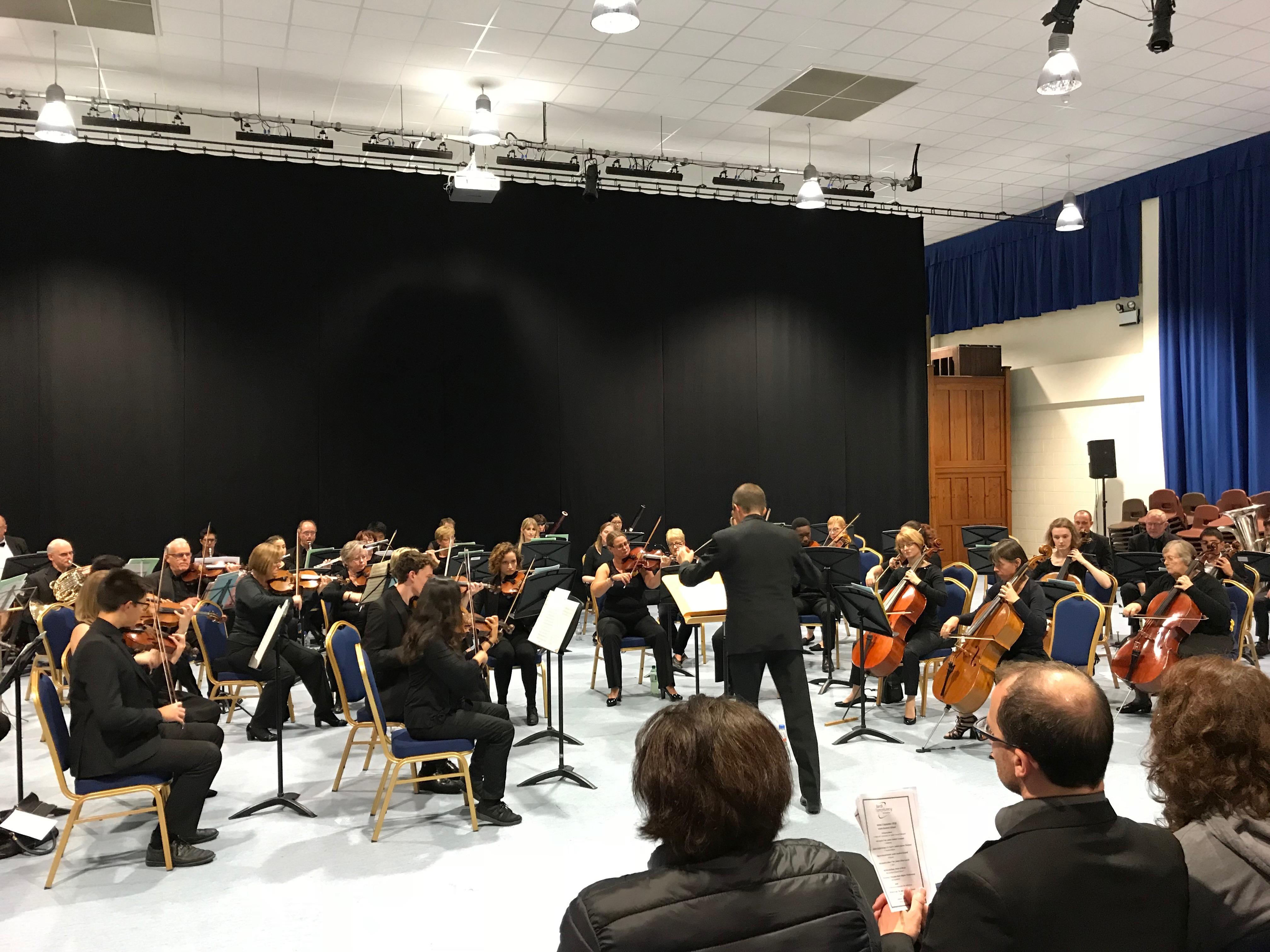 Bardi concert at Leicester Grammar School